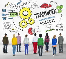 Teamwork Collaboration People Diversity Concept