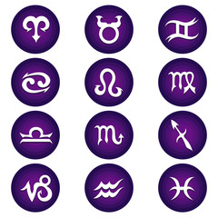 Vector Zodiac Icons