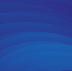 Abstract wavy background in blue tones
