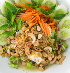 Thai food - winged bean spicy salad