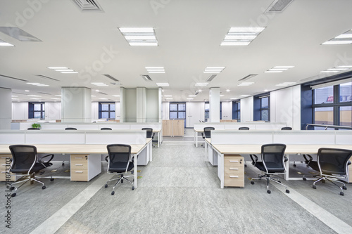 Leinwanddruck Bild modern office interior