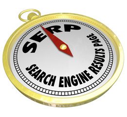 SERP Search Engine Results Page Compass Internet Website Optimiz