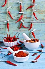 Powder red pepper