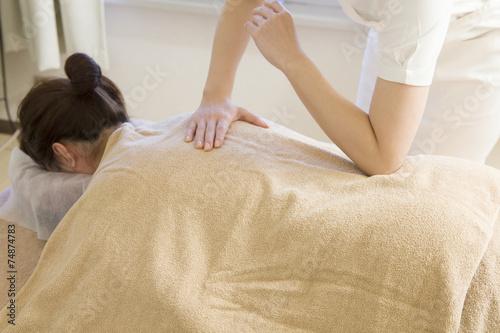Poster Female masseuse