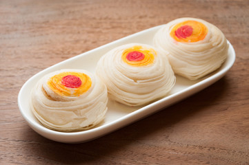 Chinese Pastry or Moon cake, Chinese festival dessert
