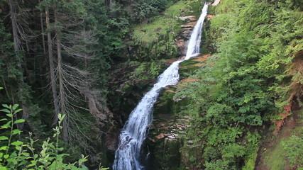 Magical Kamienczyk Waterfall. Poland