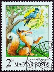 The Fox and the Raven, Aesop (Hungary 1987)