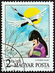 The White Crane, Japanese folk tale (Hungary 1987)