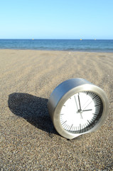 Time And Sea Concept
