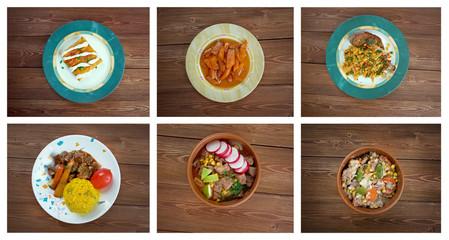 Food set . southern food