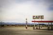 USA Route 66 / Tankstelle & Cafe in der Wüste