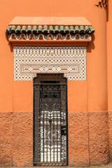 porte grille en fer forgé, marrakech  2
