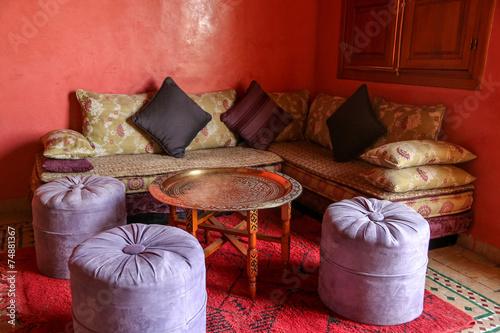 Papiers peints Maroc salon de thé marocain 3