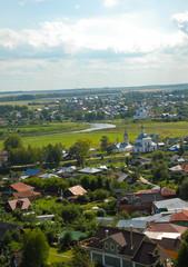 Суздаль. Вид на город сверху