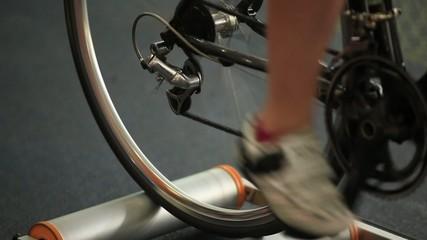 Running on velosimulator