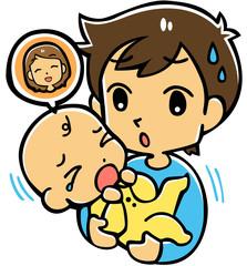 赤ちゃんとパパ(ママ)