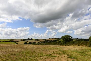 Cornwall countryside near Mevagissey