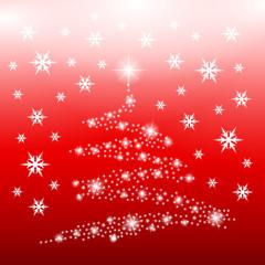 drzewo świąteczne z refleksów