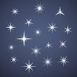 Vector sparkles - 74884930