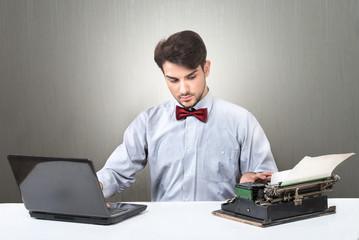 Blogger evolution concept