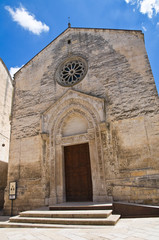 Church of St. Nicolò dei Greci. Altamura. Puglia. Italy.