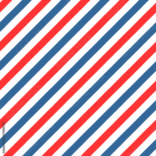 Vintage styled Barber Shop seamless pattern - 74885743