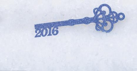 Schlüssel ins neue Jahr 2016