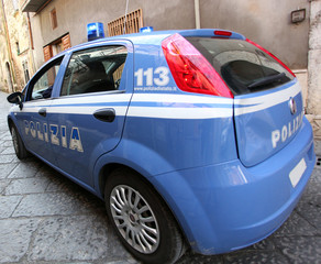 Car of the Italian Police