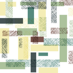 Retro Rectangles Seamless Pattern