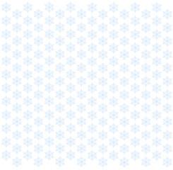 雪の結晶のフレーム(水色)