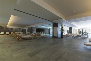 hotel interior spa pool