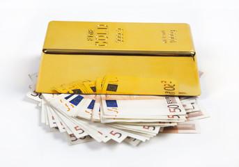 gold und viel geld