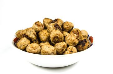 Meatballs ready to serve