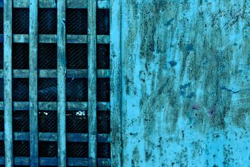 Металлическая стена