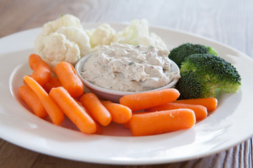 Vegetables and Dip