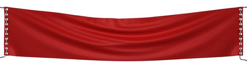 blank banner