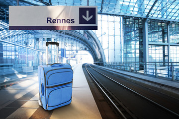 Departure for Rennes, France