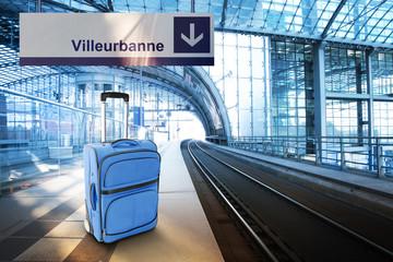 Departure for Villeurbanne, France