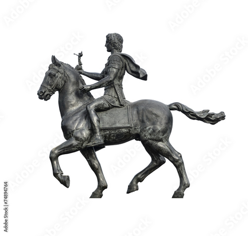 Alexander The Great on Horse