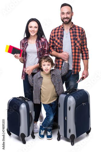 Leinwanddruck Bild Travel