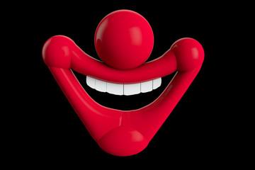 Sourire de clown