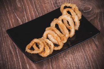 deep fried calamari squid rings