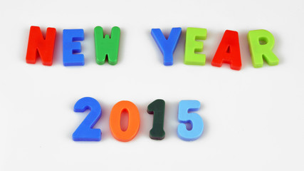 2015 Letters New Year
