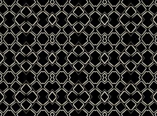 Geometric Abstract Tech Pattern