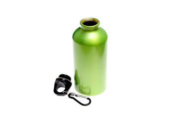 meatal drink bottle sports isolated