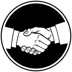 Handshake Insignia