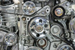 Close up of car engine - 74902716