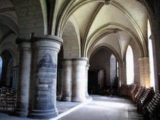The crypt of Canterbury Cathedral