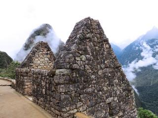 Vestige de maison à Macchu Picchu