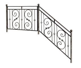 Modern decorative  banisters, railing.